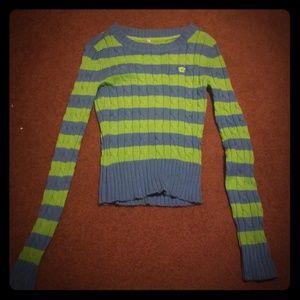 Aeropostale striped sweater, small